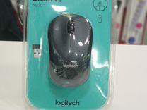 Мышь Logitech M220 silent dark Grey