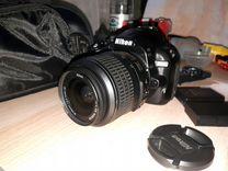 Продам Nikon d3100Kit В отл сост — Фототехника в Москве
