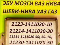 Эбу Мозги на Ваз Нива Шеви-Нива Контроллер Газ УАЗ
