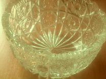 2 вазы хрусталь