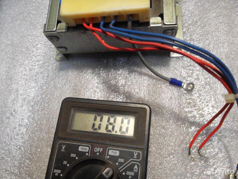 Трансформатор 14,5+14,5В (29В) и 13,5В  89138201193 купить 9