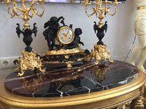 Комплект Часы каминные / канделябры, Италия — Мебель и интерьер в Москве