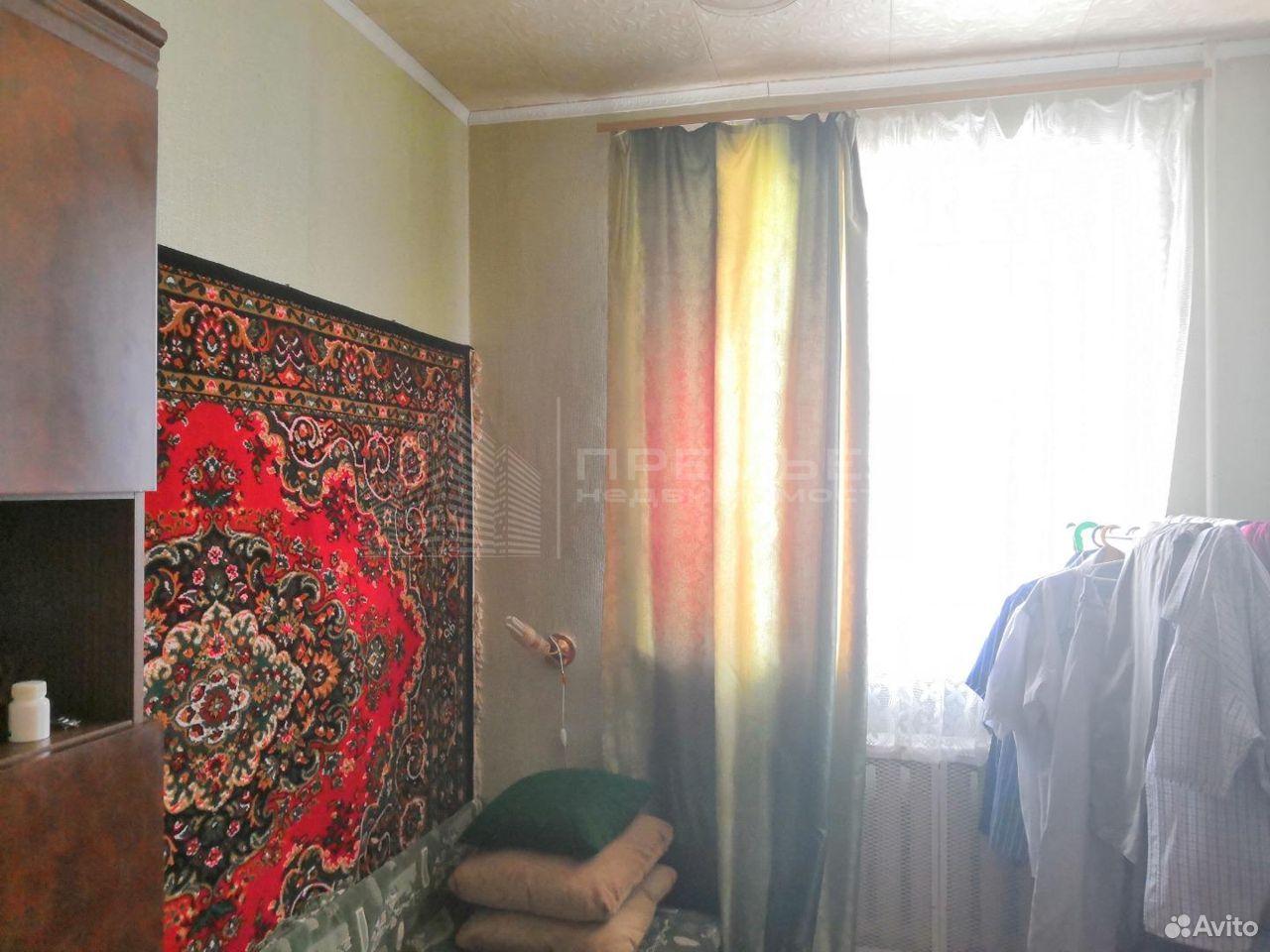 4-к квартира, 61.5 м², 3/6 эт.
