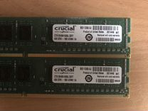 Оперативная память Crucial DDR3 4гб. ст51264ba160b