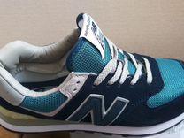Кроссовки New Balance тёмно-синие