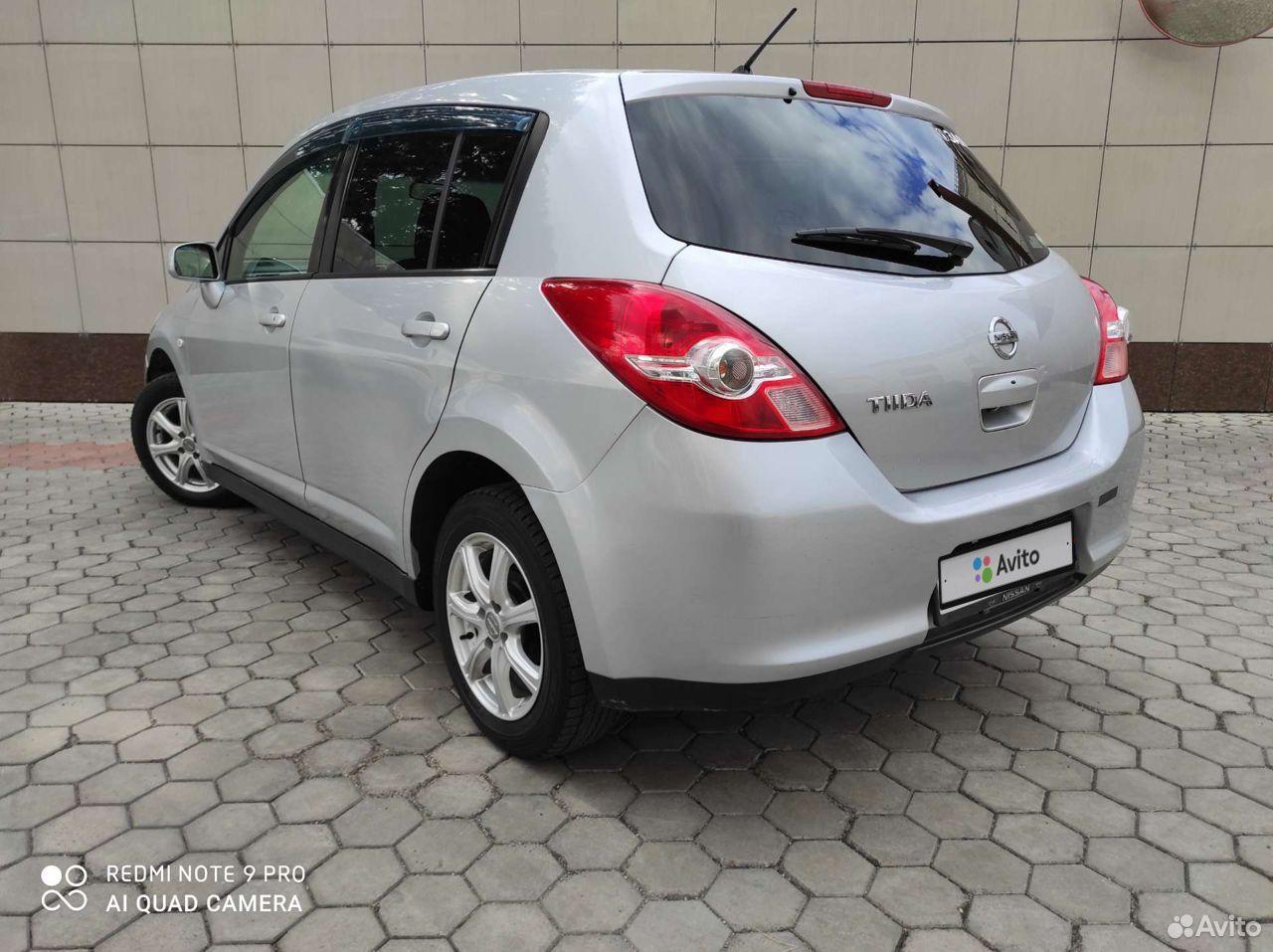 Nissan Tiida, 2009  89098120307 купить 5