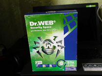 Антивирус Dr.Web Security Space 3 пк/1 год