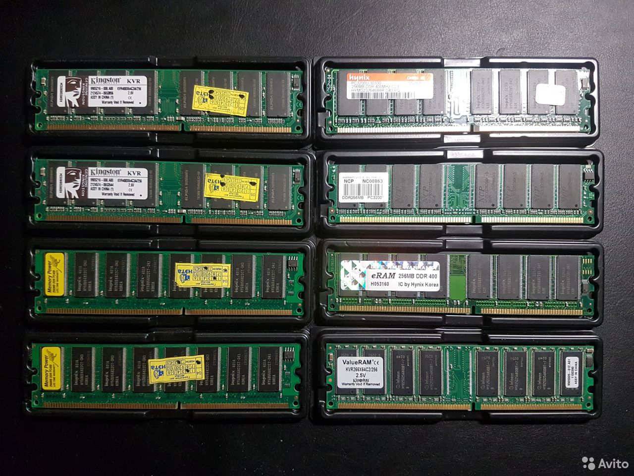 Память dimm DDR1 Kingston, Hynix, NCP и другие