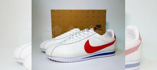 73ea0f01 Кроссовки мужские Nike Cortez кожа белые красные купить в Москве на Avito —  Объявления на сайте Авито