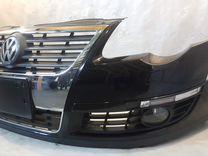 Бампер передний Passat B6 Б6 Пассат 2005-2010
