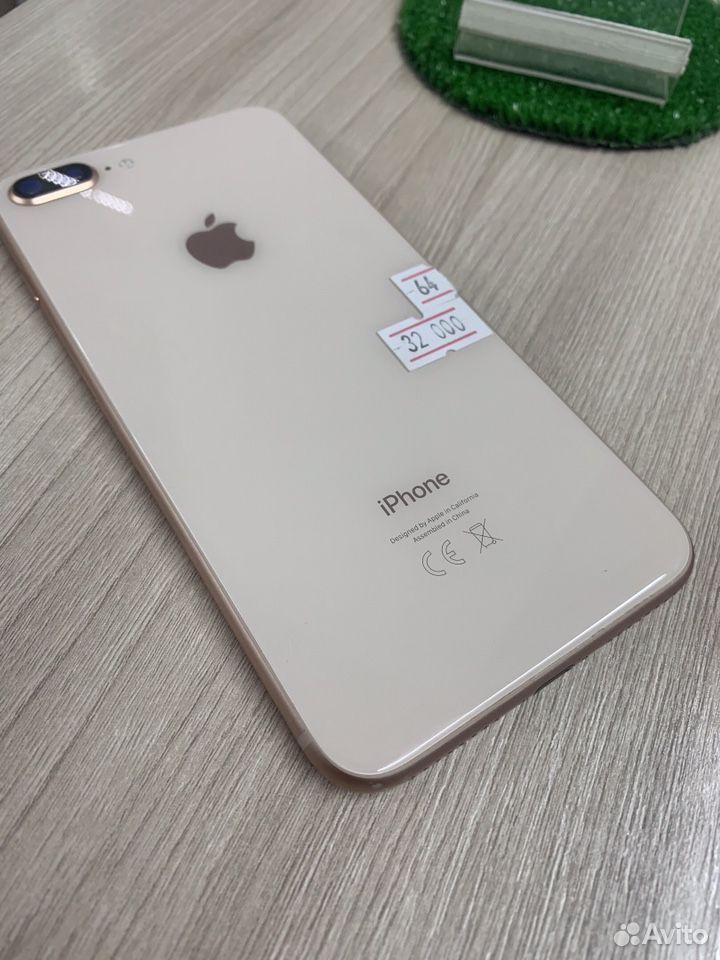 iPhone 8 Plus 64gb золотой на гарантии