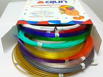 Набор пластика для 3D ручек: unid PRO-12 (по 10м