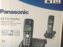 Цифровой беспроводной телефон(2трубки)